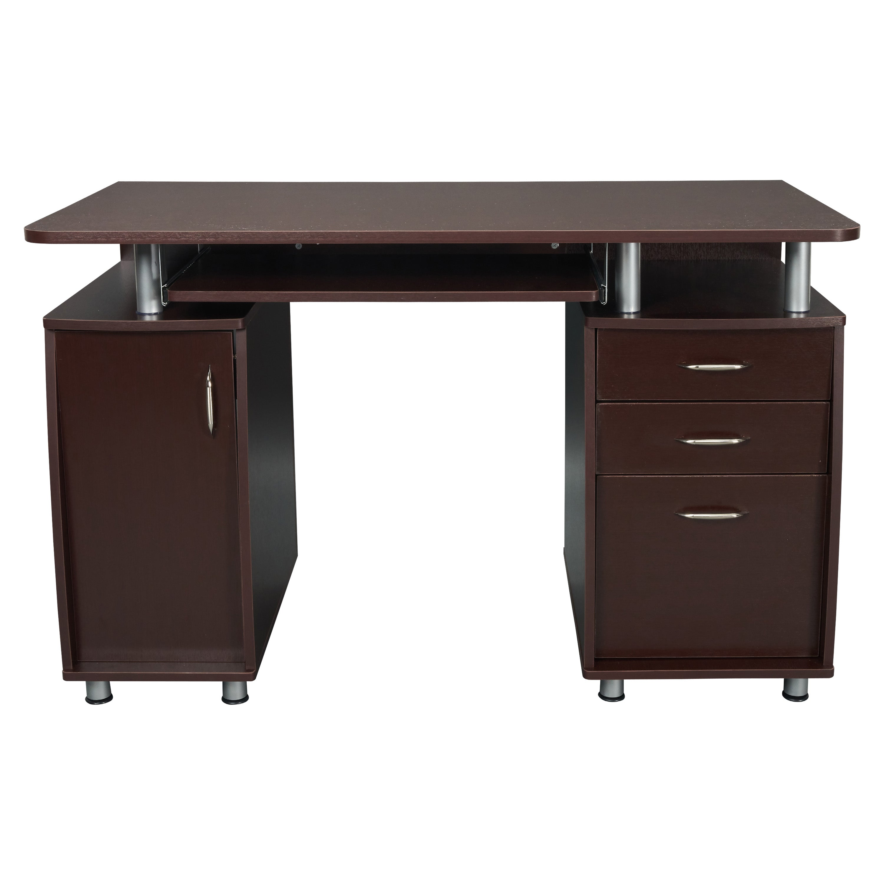 Computer Desk With Storage And File Cabinet