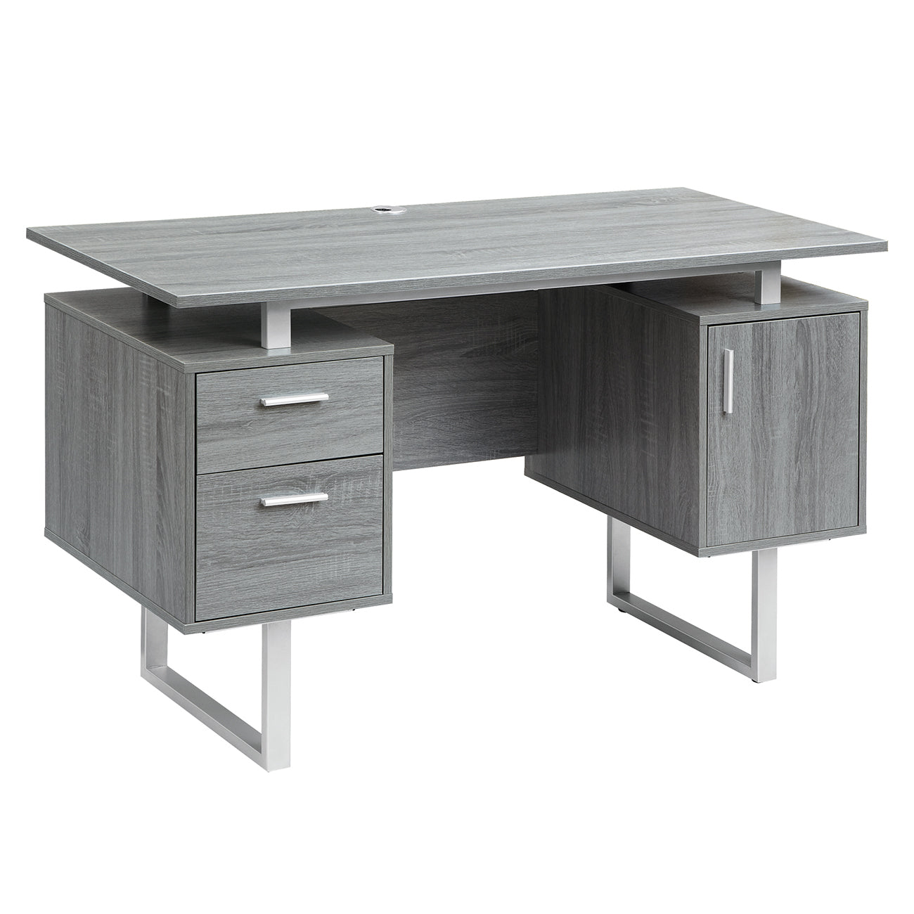 swivel drawers and furniture corner benefits plus for gray chair storage desks rug of feats stylish top also veneer desk office great