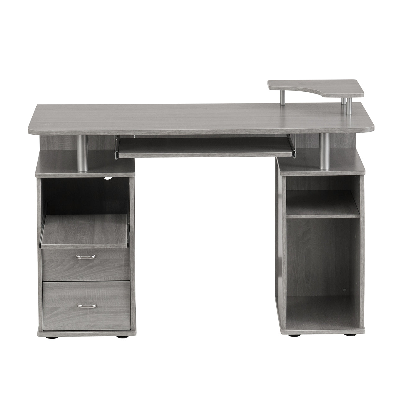 Delicieux Complete Computer Workstation Desk With Storage