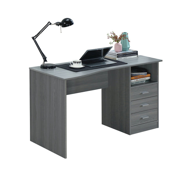 Techni Mobili Classic Computer Desk With Multiple Drawers