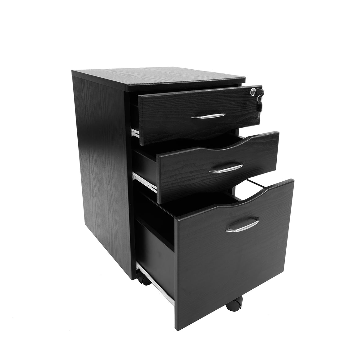Rolling storage and File Cabinet