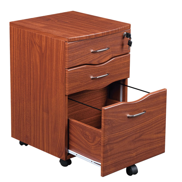 Rolling Storage And File Cabinet Techni Mobili