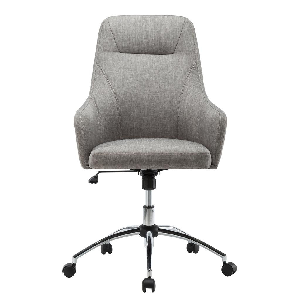 Comfy Height Adjustable Rolling Office Chair With Wheels