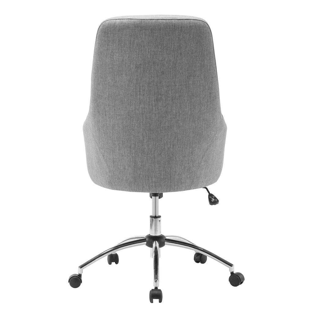 Perfect Comfy Height Adjustable Rolling Office Chair With Wheels