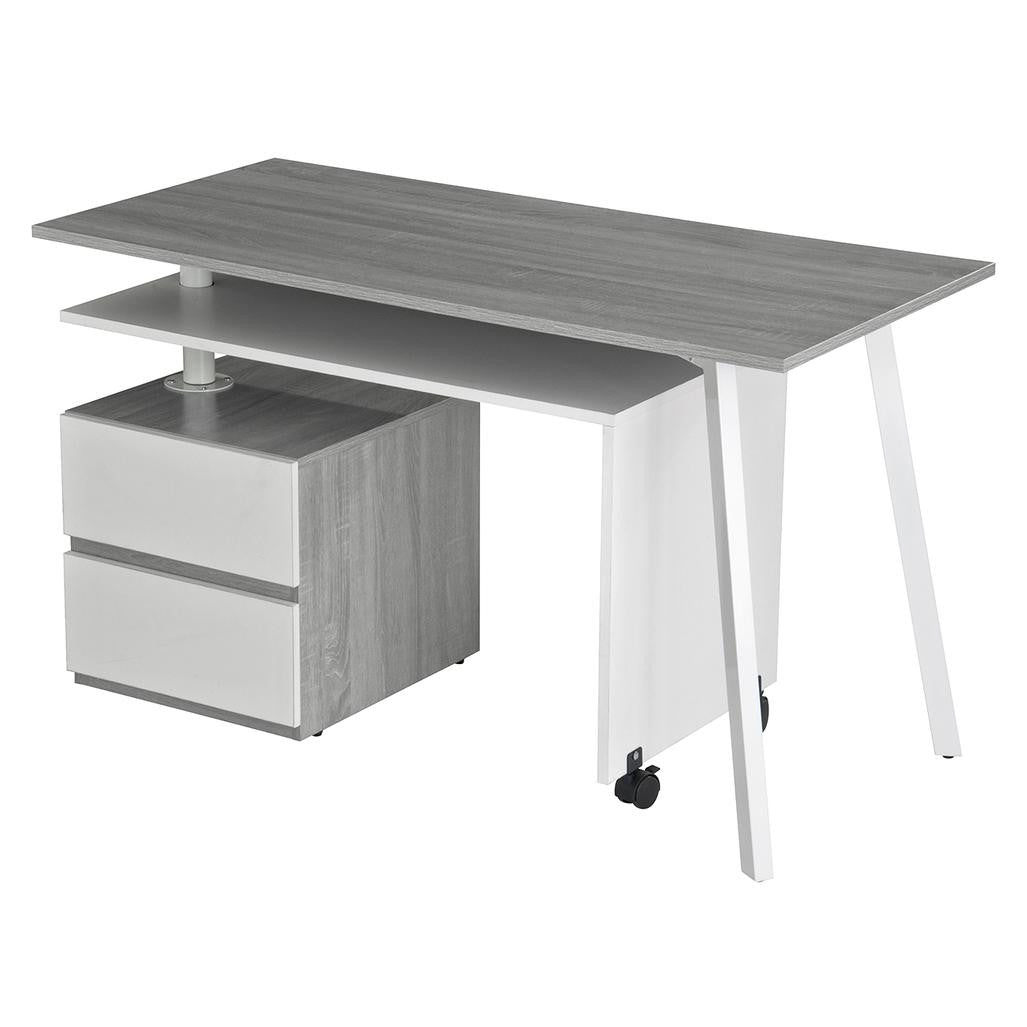 Rotating Multi-Positional Modern Desk