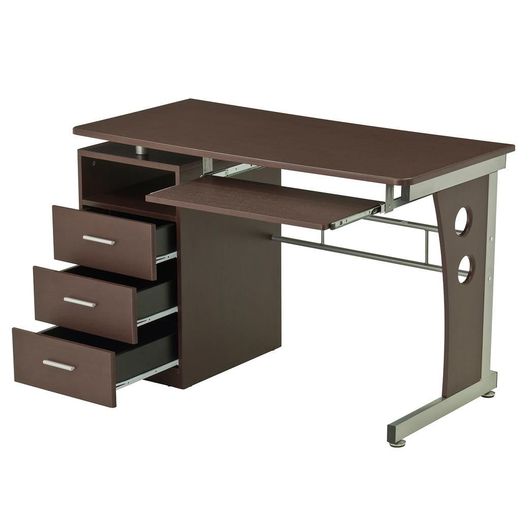 Computer Desk With Ample Storage
