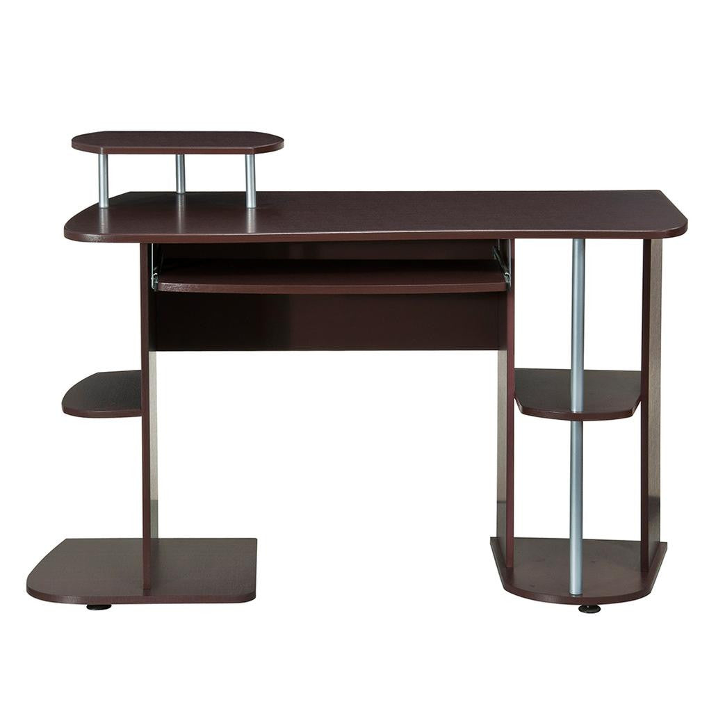 Complete Computer Workstation Desk With Storage
