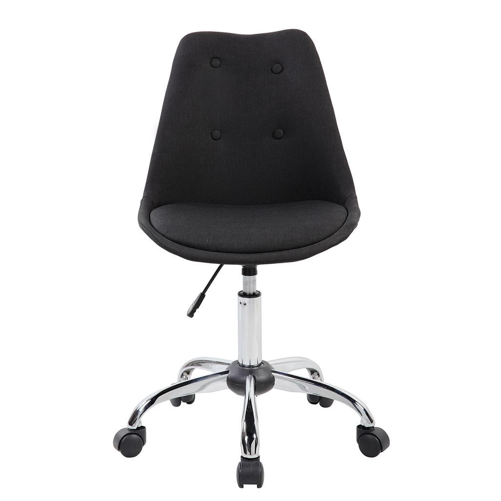 Armless Task Chair with Buttons