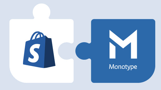 Shopify Cooperates With Monotype