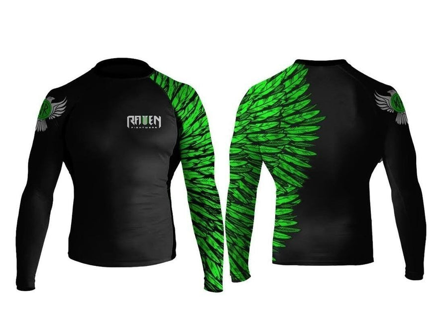 Aerial Assault Green (Women's) - Raven Fightwear - US