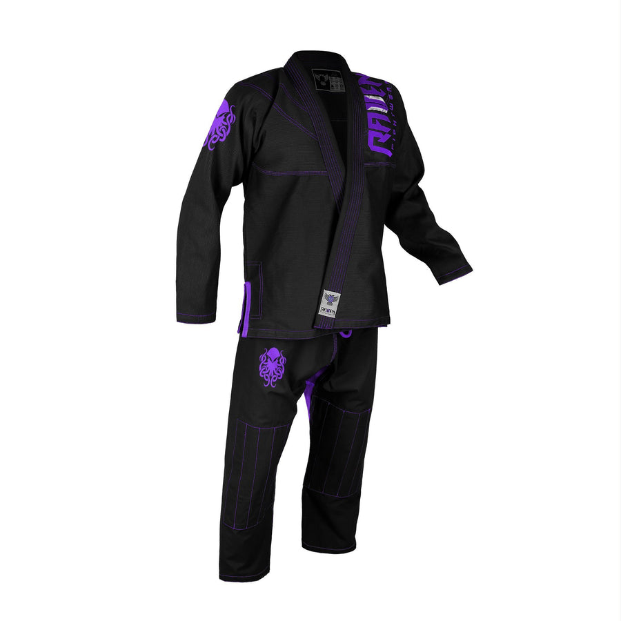 BJJ Horror Cthulhu - Black - Raven Fightwear - US
