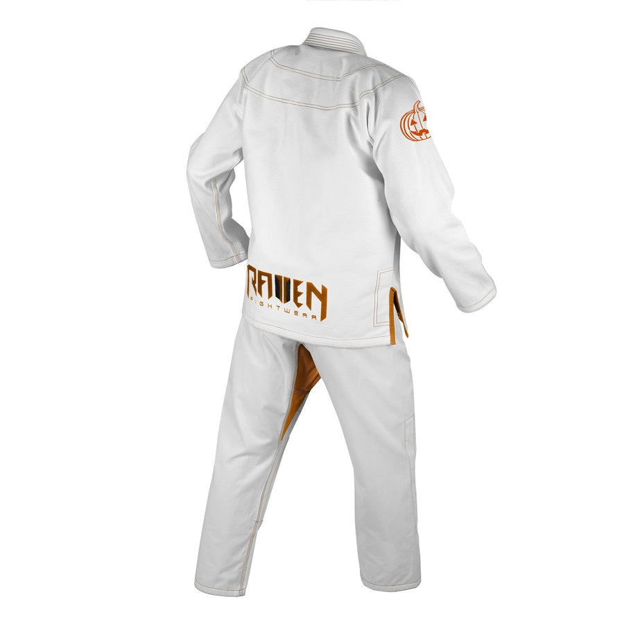 BJJ Horror Headless Horseman - White - Raven Fightwear - US