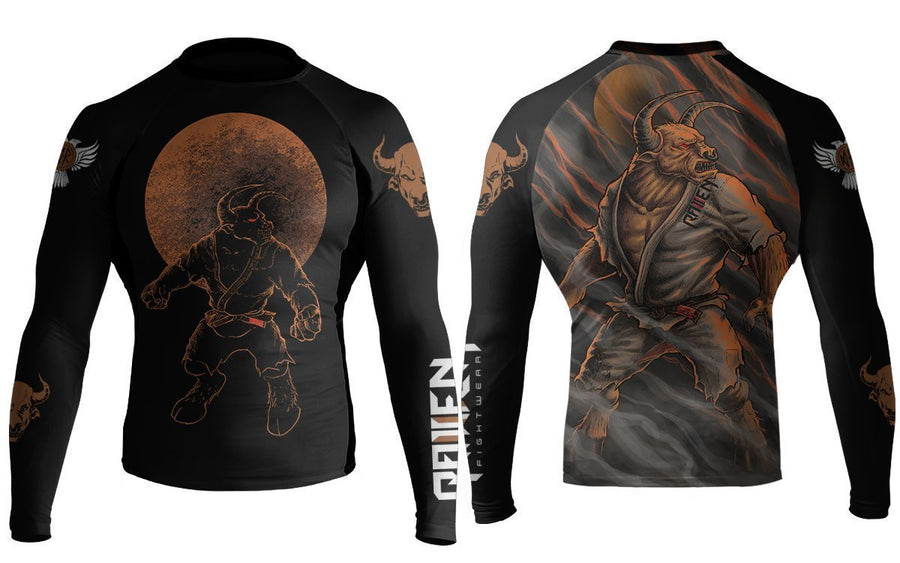 BJJ Horror Minotaur - Raven Fightwear - US