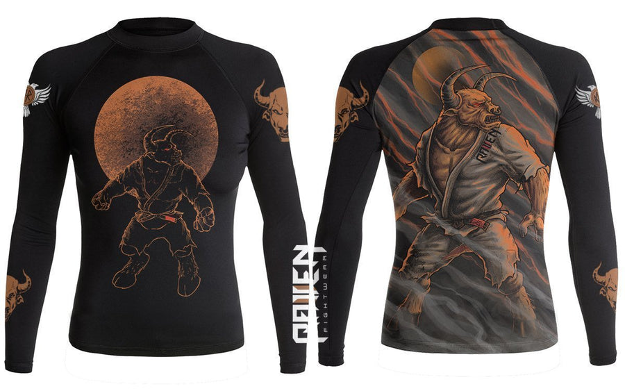 BJJ Horror Minotaur (women's) - Raven Fightwear - US