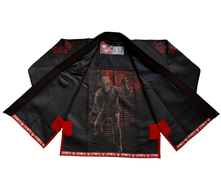 BJJ Horror Nosferatu - Black - Raven Fightwear - US