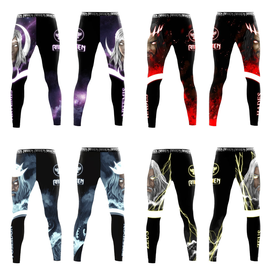 Gods of Greece - Four Pack (women's) - Raven Fightwear - US