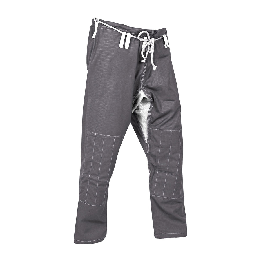 Grey and white ripstop pants - Raven Fightwear - US