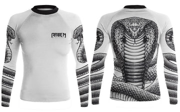 King Cobra White (women's) - Raven Fightwear - US