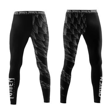 Power Pangolin Black (women's) - Raven Fightwear - US