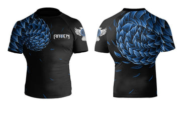 Power Pangolin Blue - Raven Fightwear - US