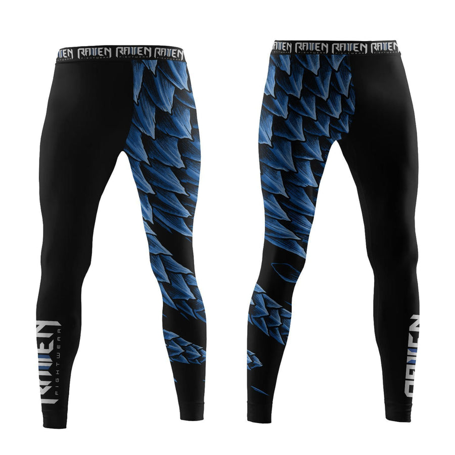 Power Pangolin Blue (women's) - Raven Fightwear - US
