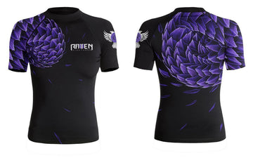 Power Pangolin Purple (women's) - Raven Fightwear - US