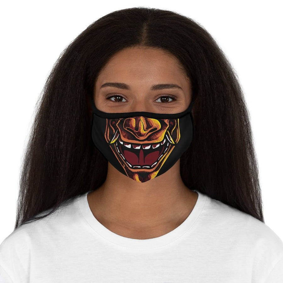 The Oni of Rashoumon Polyester Face Mask - Raven Fightwear - US