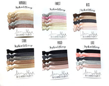 5 Pack of Elastic Hair Ties | Choose from our Neutral and Ombre Hair Tie Collections