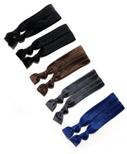 10 Dark Neutral Hair Ties | Dark Basics Set
