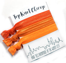 Orange Ombre Package - Set of 3 Elastic Hair Ties - Wholesale