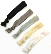 Classic Package - Set of 5 Elastic Hair Ties - Wholesale