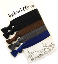 Dark Basics Package - Set of 5 Hair Bands - Wholesale