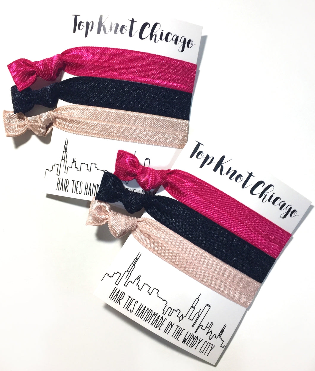 Day to Night Package - Set of 3 Elastic Hair Bands