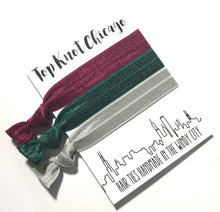 Holiday Hair Accessories - Christmas Elastic Hair Ties | O Christmas Package