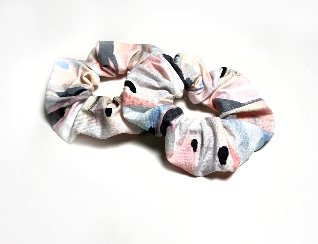 Scrunchies | Light Spring Abstract Patterned Hair Scrunchie