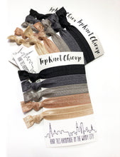 Stone Package - Set of 5 Elastic Hair Bands - Wholesale