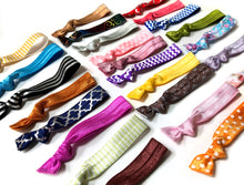 Overstock Elastic Hair Ties - Deal | Package of 10 Hair Elastics