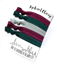 Hair Elastics Small Gift Ideas  - Stocking Stuffer Ideas  | O Christmas Package Set of 5 Hair Ties