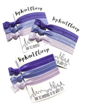 Amethyst Ombre Hair Elastics - Wholesale
