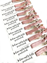 To Have and To Hold Your Hair Back Bachelorette Party Hair Tie Favors - Bridal Shower Favors - Small Bridesmaid Gift