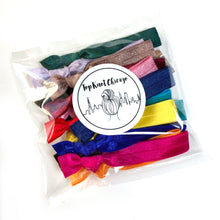Elastic Hair Ties Grab Bag - Bulk Discounted Ponytail Holders