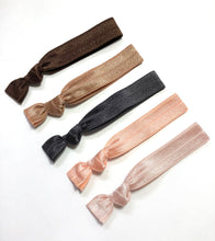 Knotted Elastic Hair Tie Ponytail Holders | Bliss Package
