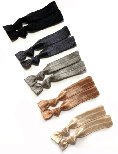 Neutral Ponytail Holders | Stone Package