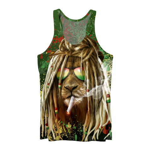 Rastafarian Lion Tank Top