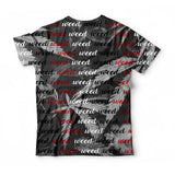 All Over Weed T-shirt
