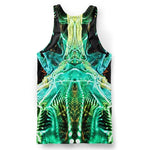 Psychedelic Dark Web Tank Top