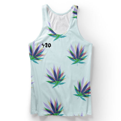 420 Cannabis Tank Top