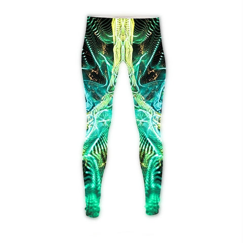 Psychedelic Dark Web Leggings