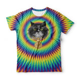 Junkie Cat T-Shirt