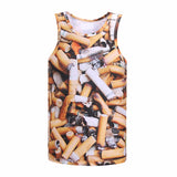 Cigarette Butts Tank Top